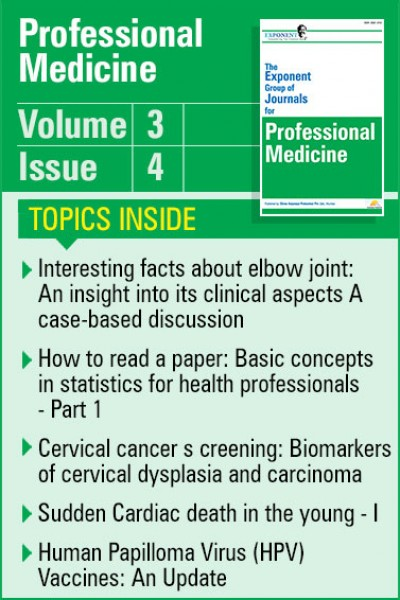 Professional Medicine Volume 3 Issue 4