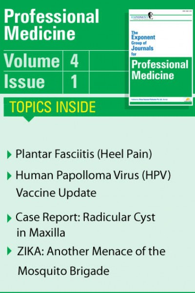 Professional Medicine Volume 4 Issue 1